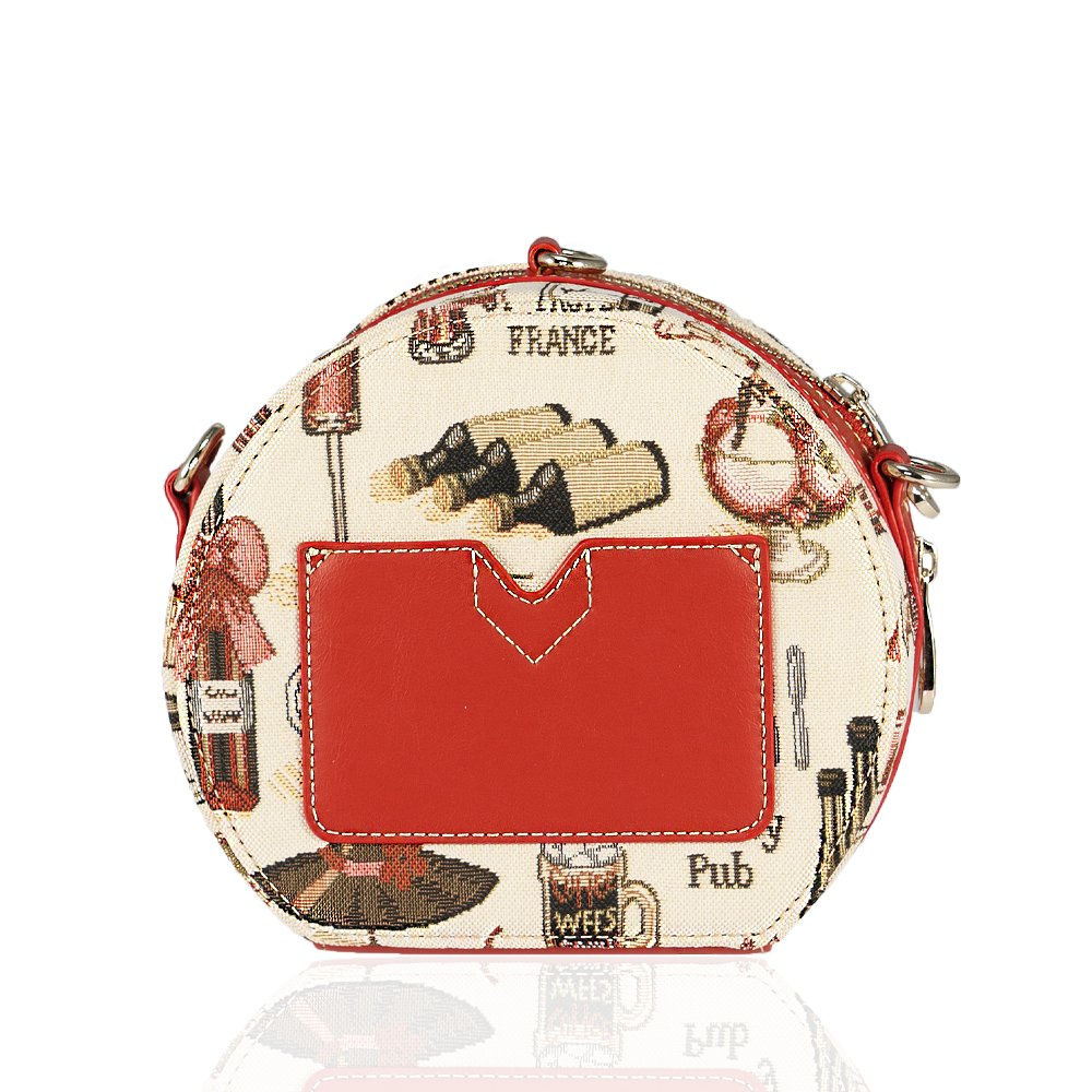 Ladies Small Crossbody Bag With Wrist Band Henney Bear Australia Red Home Cross Body Bags